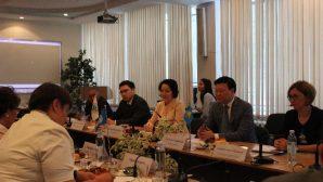 Эксперты ВОЗ в РК посетили Национальный центр проблем формирования здорового образа жизни
