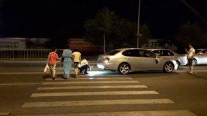 В Алматы Lexus сбил на «зебре» семью из четырех человек