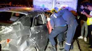 9 человек пострадали в результате ДТП двух машин поздно ночью в Алматы