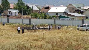 Озвучены предварительные причины крушения самолета под Алматы