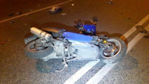 Кровавое ДТП в Алматы: Мопед на полном ходу врезался в легковушку