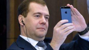 Медведев опубликовал фото ночной Астаны