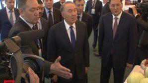 Нурсултан Назарбаев посещает Павлодар