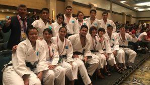 Казахстанские дзюдоисты завоевали бронзу молодежного ЧМ-2018 в командных соревнованиях