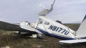 В США разбился легкомоторный самолет – 4 человека погибли