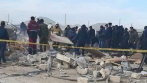 В Жанаозене взорвался жилой дом – в нем находились люди