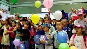 В Акмолинскуя область прибыли отдыхать 100 детей из Арыси