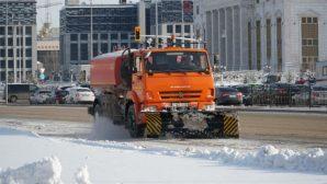 В ночь на 5 января из столицы вывезли более 20000 кубометров снега