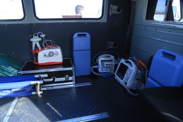 В Костанайской области приобретено 80 единиц санитарного автотранспорта