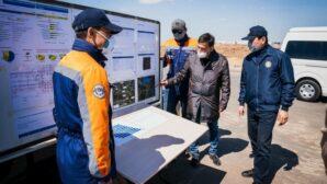 Алтай Кульгинов ознакомился с ходом строительства дорог в столице