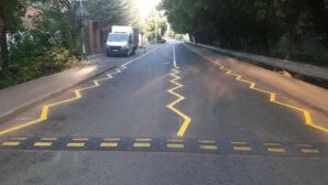 Желтая зигзагообразная разметка появилась в Нур-Султане