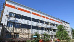 В родильном доме Шымкента проходит капитальный ремонт