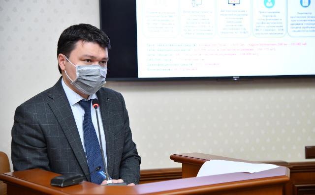Акиму Шымкента представили 5-летний план развития сферы здравоохранения города