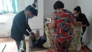В ЦОНе Алматы посетительница родила девочку