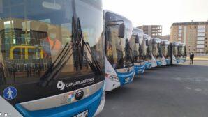 В Актау появилось 18 новых городских автобусов
