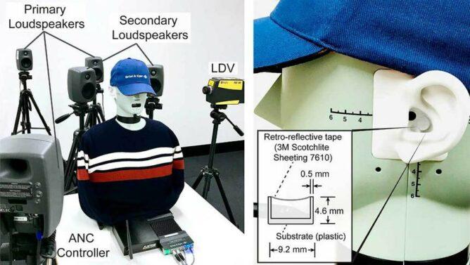 Создана система подавления внешнего шума вне наушников